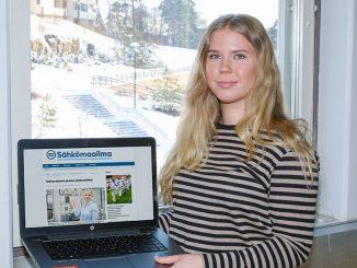 Salla opiskelee toista vuotta elektroniikkaa ja sähkötekniikkaa Aalto-yliopistossa.