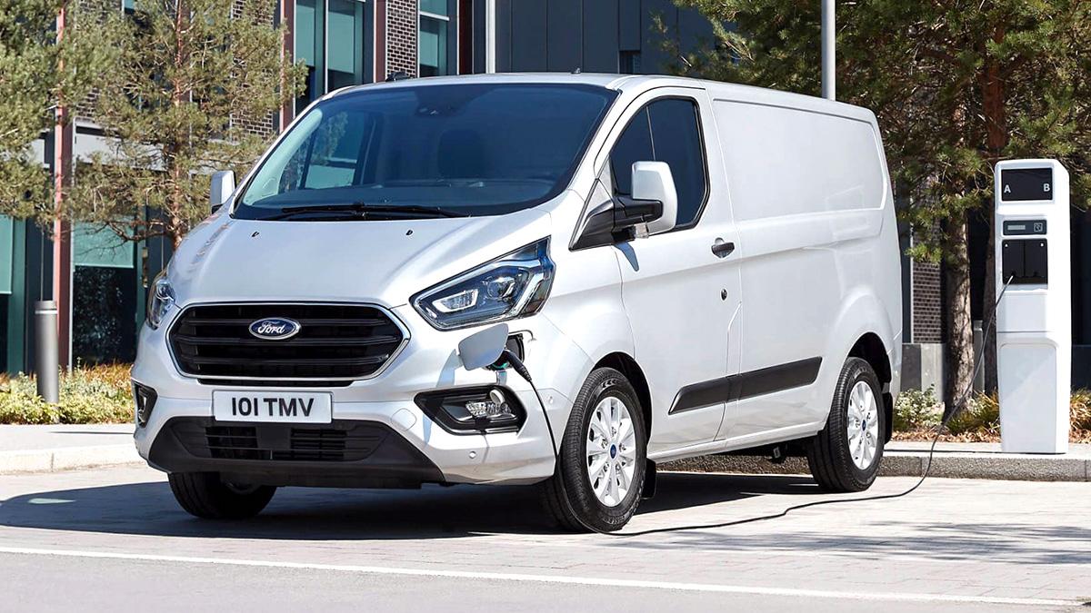Transit Custom -hybrid. Kuva Ford