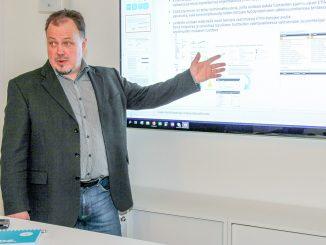 Kymdatan Kai Ristolan mukaan tulevaisuudessa CADSin suunnitelmiin voidaan lisätä esimerkiksi valaisimia pelkästään niiden teknisten ominaisuuksien perusteella.