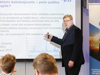 VTT:n erikoistutkija Klaus Känsälän mukaan kulutusjoustolle olisi perusteltua luoda automatisoitu kauppapaikka, joka mahdollistaisi myös pienten sähköerien kustannustehokkaan myynnin.