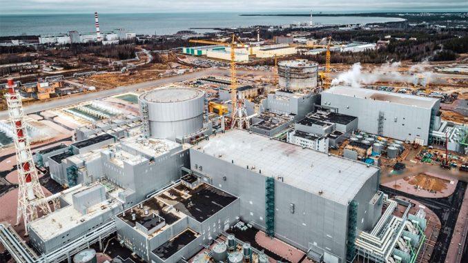 Leningradin voimala sijaitsee Sosnovyi Borin kaupungissa Suomenlahden etelärannalla Pietarin lounaispuolella. Kuva Rosatom.
