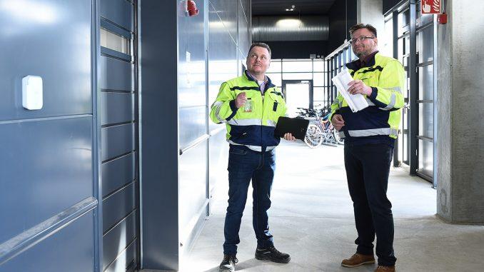 Capconin toimitusjohtaja Petri Tomperi ja tekninen johtaja Esa Qvist. Kuva QMG.