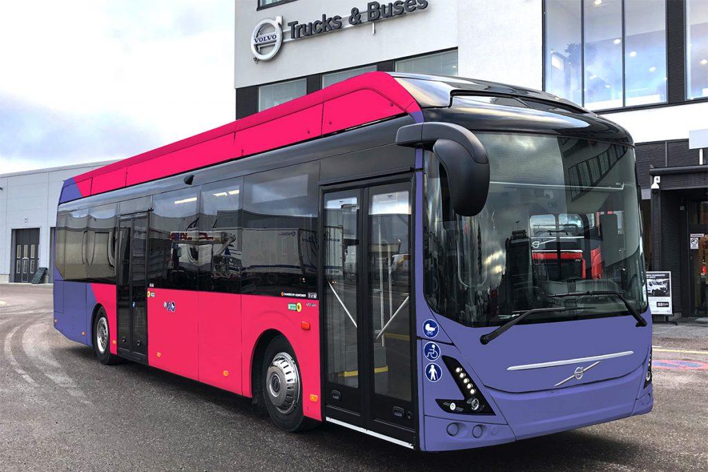 Joensuu saa 13 uutta sähköbussia